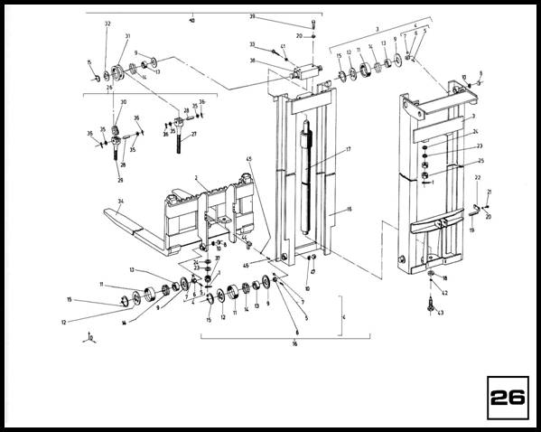 Подъемное устройство H25